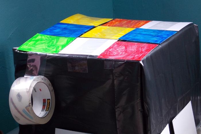 Creating the Rubik's Cube