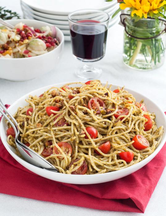 Matcha Pesto Pasta