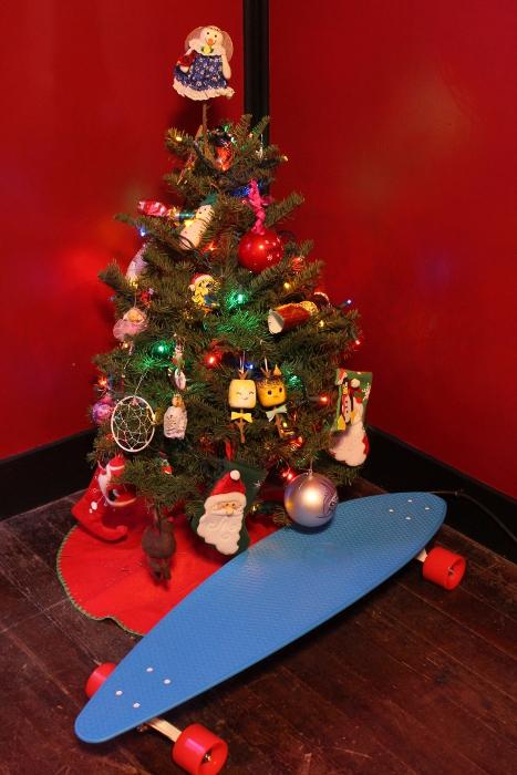 Penny Skateboard under the tree