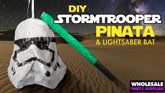 DIY Stormtrooper Piñata