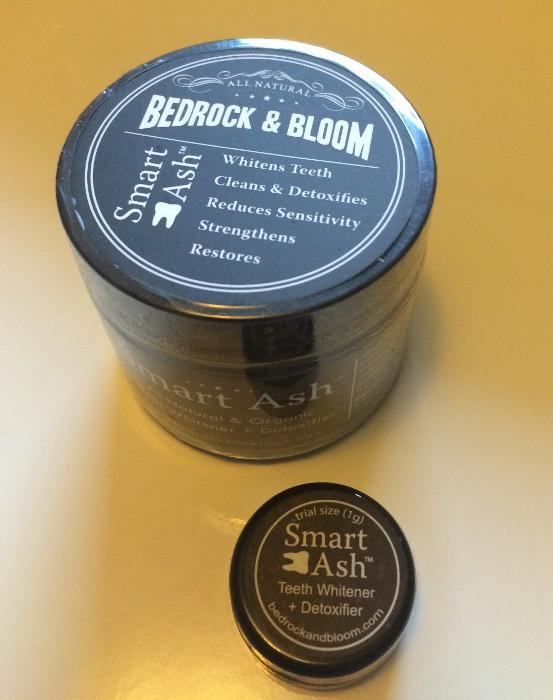Bedrock & Bloom Smart Ash Tooth Whitening Powder