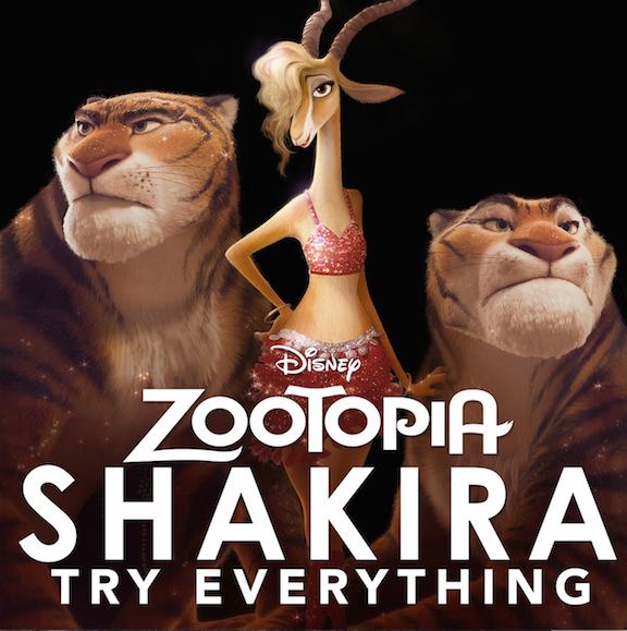 "Shakira ""Try Everything"""