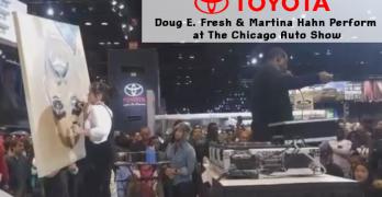 Doug E. Fresh & Martina Hahn Perform