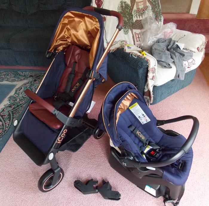 iCoo Acrobat Stroller & Car Seat