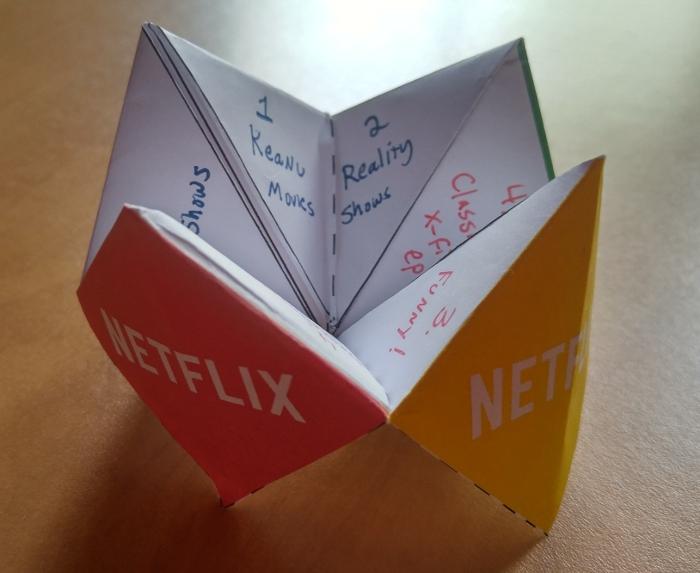 Beeb's Netflix Fortune Teller