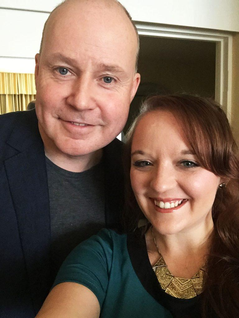 Selfie with David Yates