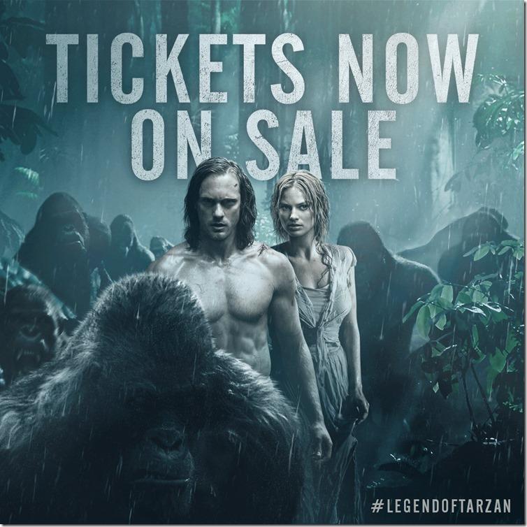 Tarzan-Ticket