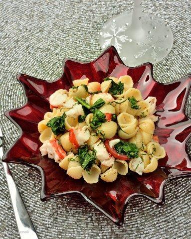 Warm Lobster and Shells Salad