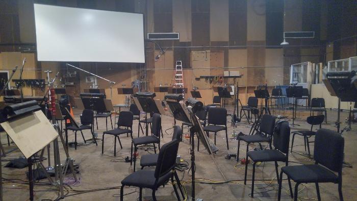 Inside the Barbra Streisand Scoring Stage