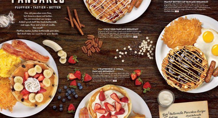 Denny's Diners New Buttermilk Pancakes Fluffier Tastier Better #DennysDiners