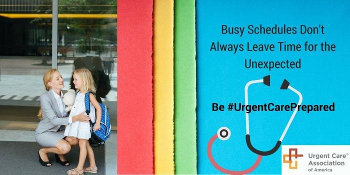 Get #UrgentCarePrepared For The Back-To-School Season!