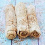 Easy Cinnamon Sugar Breakfast Roll Ups Recipe