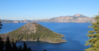 A View from Crater Lake OR Travel