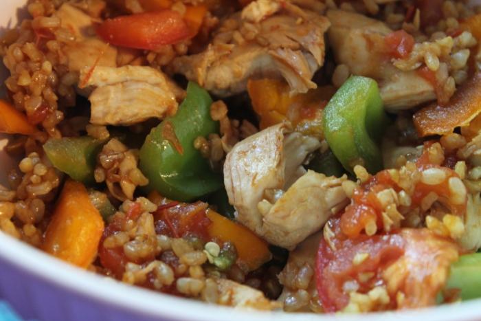 Lean and Green Chicken Stir Fry