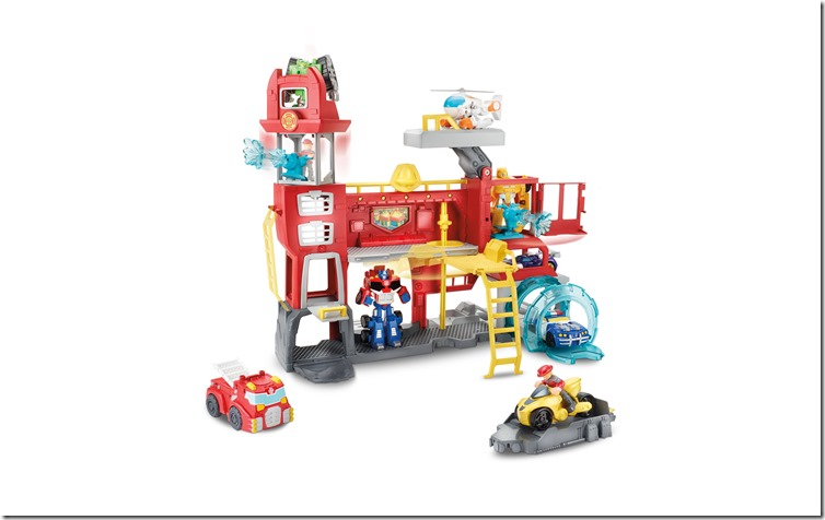 Transformers Rescue Bots Headquarters Open