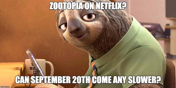 Zootopia on Netflix