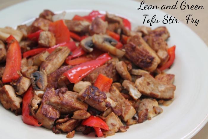 Lean and Green Tofu Stir Fry