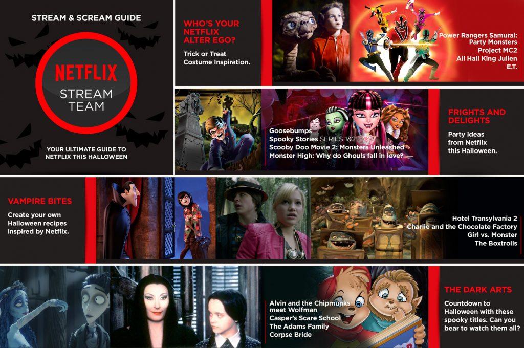 Stream & Scream Halloween Guide