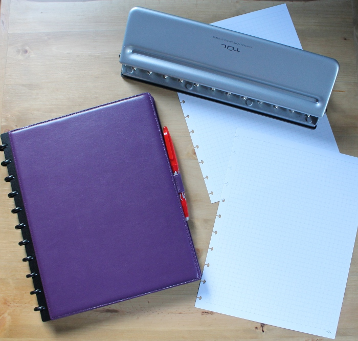 Creating my binder