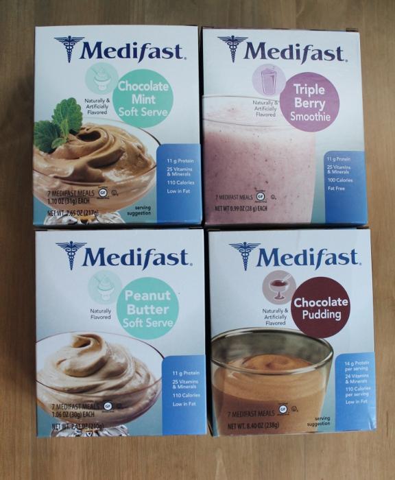 Soft Medifast foods