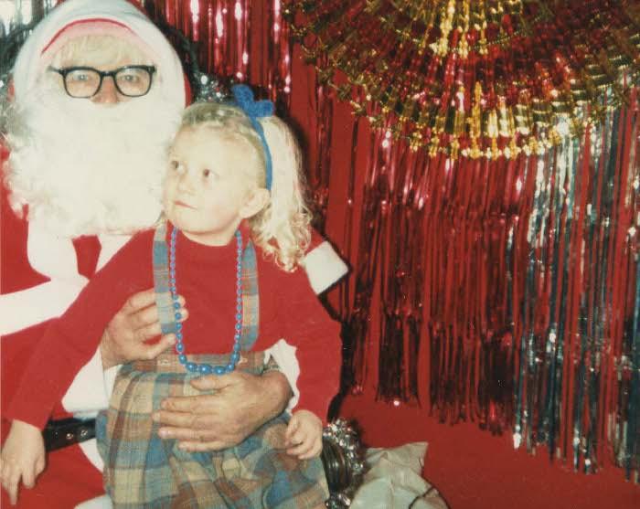 Beeb with Santa