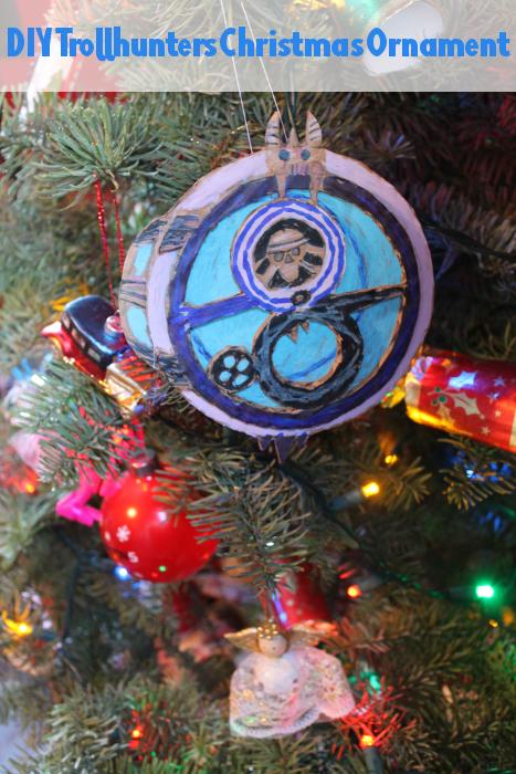 DIY Trollhunters Christmas Ornament