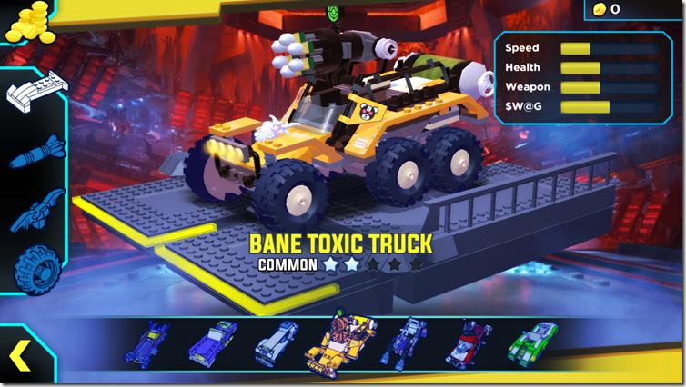 bane toxic truck