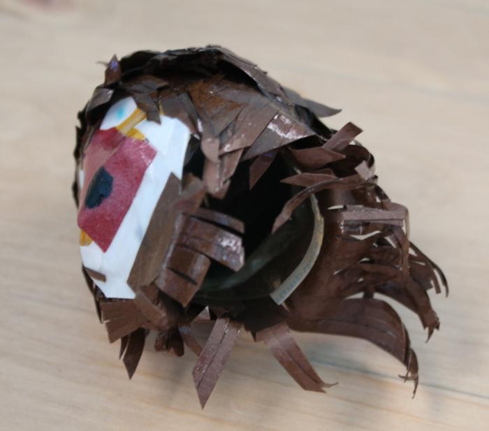 Beast doll mask