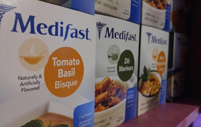 Cupboard of Medifast food Summer Goals