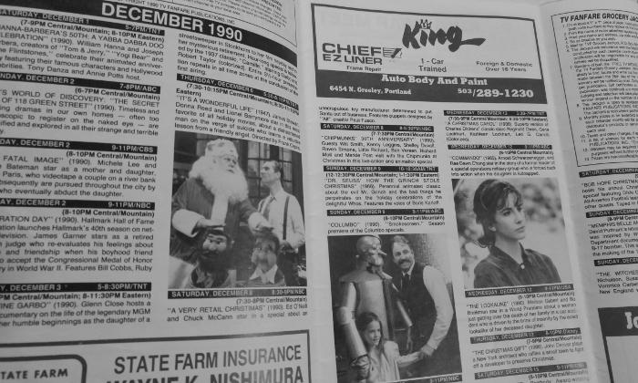 1990 TV Listings