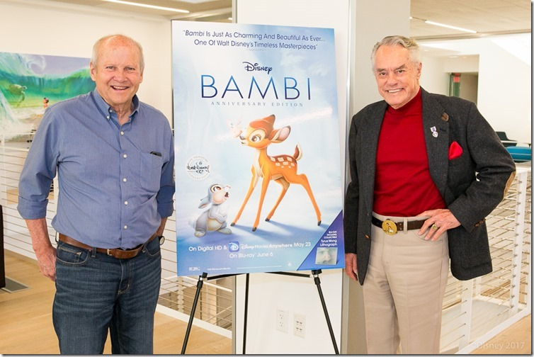 Voice of Bambi and Thumper