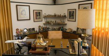 A Walk Through Walt Disney's Office