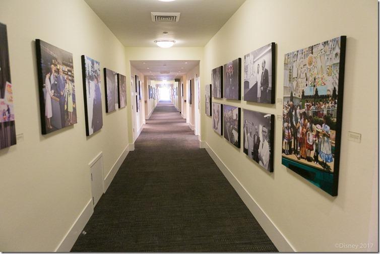Walt Disney's hallway