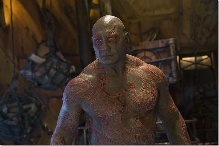 Guardians Of The Galaxy Vol. 2  Drax (Dave Bautista)  Ph: Chuck Zlotnick  ©Marvel Studios 2017