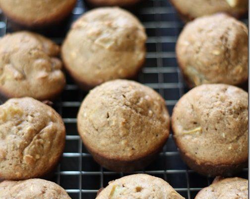 Pear Quinoa Muffins With Truvia Baking Blend