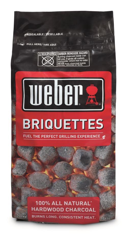 2017 Weber Charcoal Briquettes