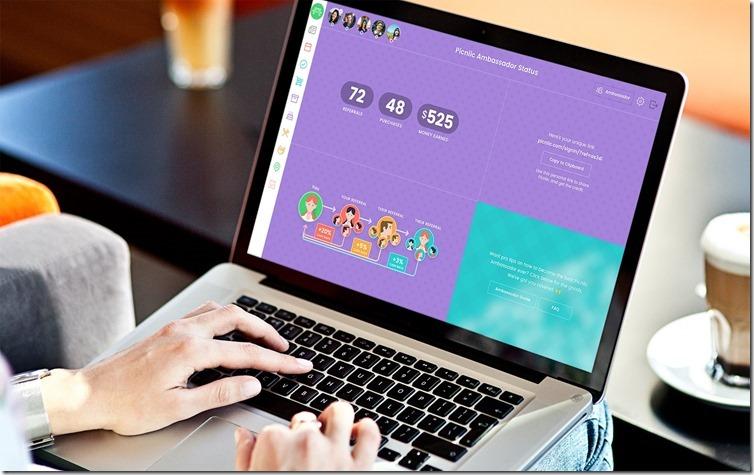 Woman MacBook Cafe Ambassador 01