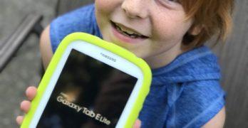 Road Trip Ready: Samsung Kids Galaxy Kids Tablet E Lite