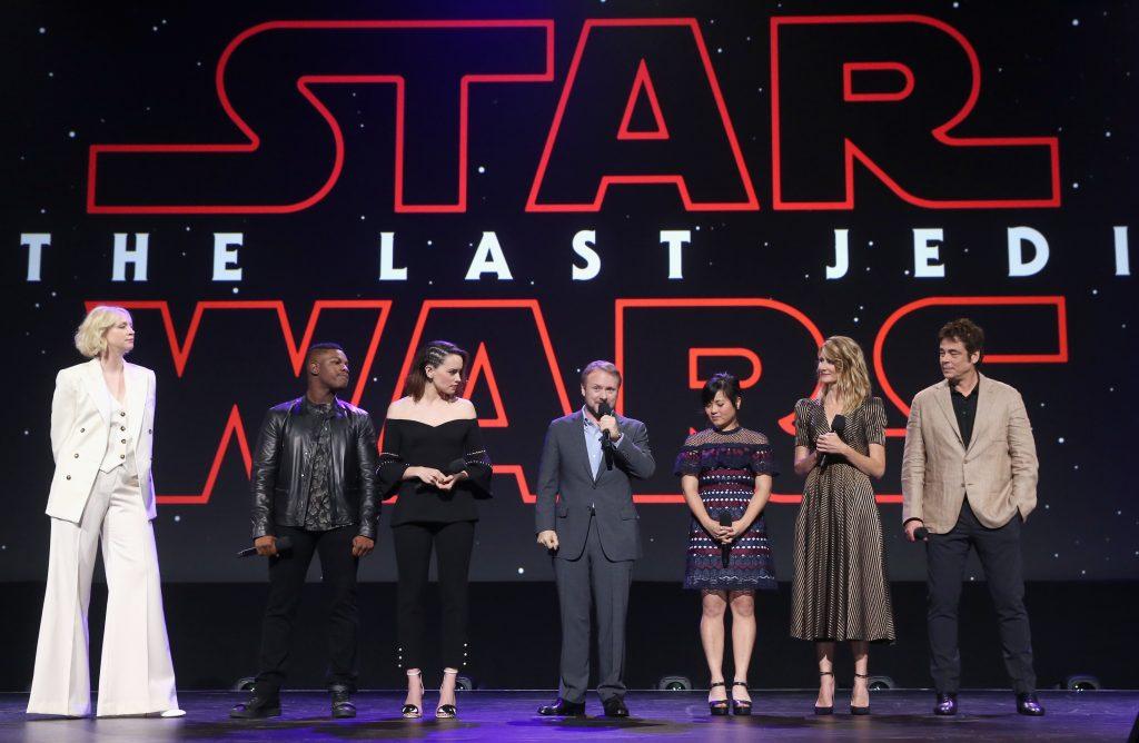 Star Wars The Last Jedi Actors