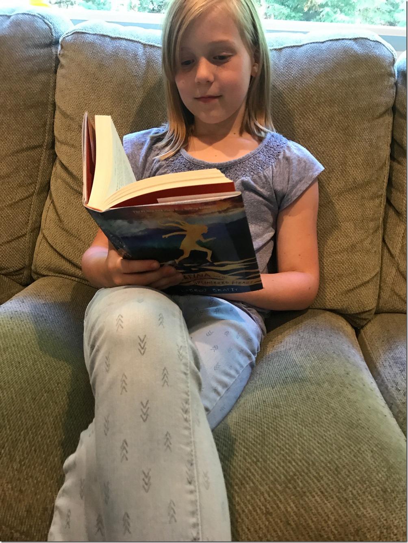 Zoe reading
