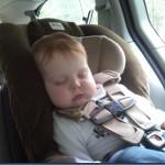 Wordless Wednesday sleeping baby