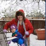Fun in the Texas Snow Storm