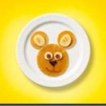 Father's Day Breakfast Idea Buttermilk Banana Bear