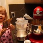 Wordless Wednesday – Baking Muffins