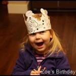 Wordless Wednesday Birthday Crown
