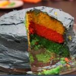 Birthday Boy's Rainbow Ribbon Layer Cake Recipe