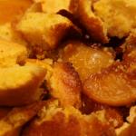 Upside-Down Peach Cornbread Cakes Recipe