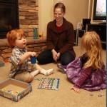 Wordless Wednesday Family Game Night