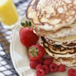 White Chocolate Caramel Latte Pancakes & Iced Café Latte Coffee-mate Creamer Recipe
