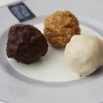 Vanilla, Chocolate and Plain Churro Cake Pops Recipe